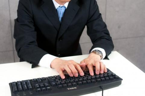 仕事の能率アップのためにタイピングのスピードをアップ