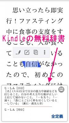 Kindle辞書